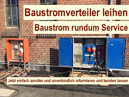 Baustromverteiler Berlin mieten