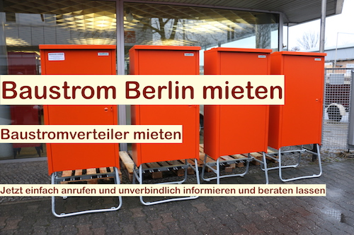 Angebot Baustrom Berlin