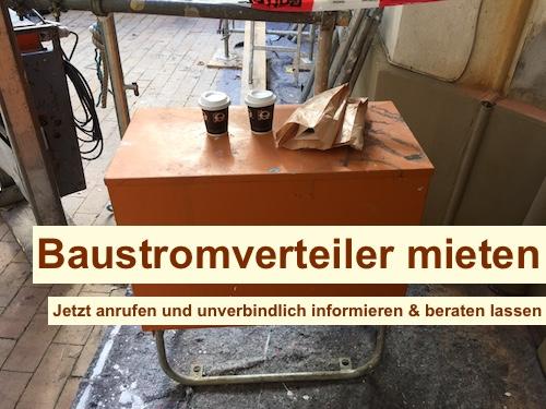 Baustromverteiler 16A Berlin