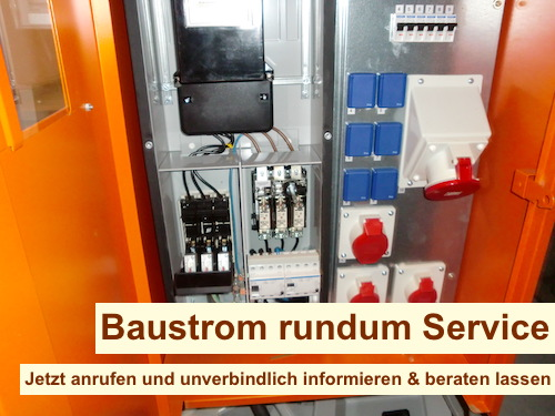 Baustromverteiler Anschluss und Prüfung Berlin