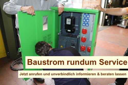 Baustromverteiler mit Zähler Berlin